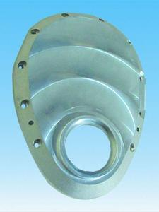 MILODON SBC Machined Aluminum 1 Piece Timing Cover Kit P/N 14815
