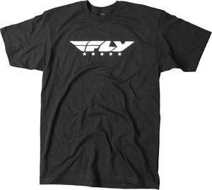 Fly Street ADULT Street Tee Shirt Black Mens Size SM