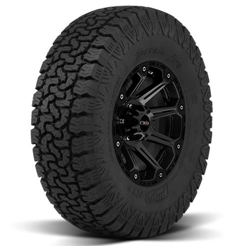 2-LT285/75R16 AMP AT Terrain Pro 126/123R E/10 Ply BSW Tires