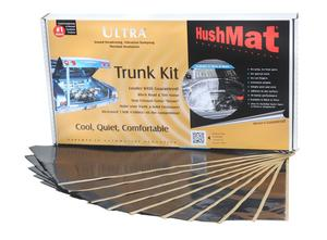 Hushmat 10300 Ultra Insulating/Damping Material Trunk Kit