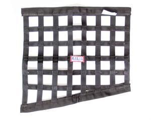 RJS SAFETY Triangle Black Window Net P/N 10000101