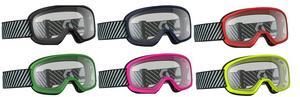 Scott Adult Buzz Motorcycle MX ATV Goggles Yellow W/Clear Lens