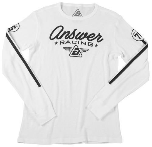 Answer Team 76 Long Sleeve Shirt (White, XX-Large)