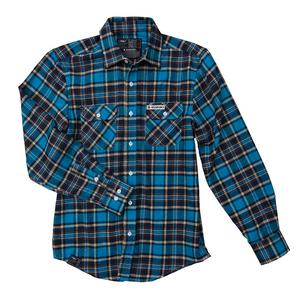Factory Effex Suzuki Plaid Flannel Shirt Mens Size MD