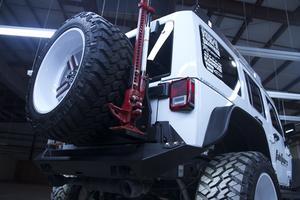 Fab Fours M2150-1 Hi-Lift Jack Mount Fits 07-18 Wrangler (JK)