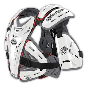 Troy Lee Designs YOUTH Bodyguard 5955 Chest Protector White
