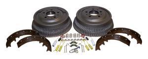 Crown Automotive 52001151K Drum Brake Shoe And Drum Kit