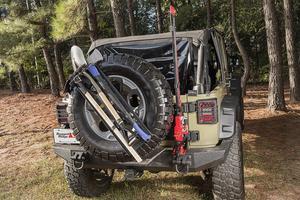 Rugged Ridge 13551.63 Spare Tire Tool Rack System