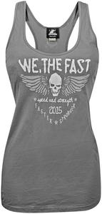 Speed & Strength We, The Fast Womens Tank Top (Gray, X-Large)