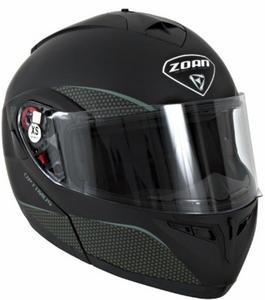 Zoan Optimus Solid Helmet Matte Black (Black, X-Small)