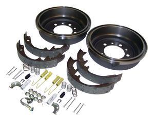 Crown Automotive 52002952K Drum Brake Shoe And Drum Kit Fits CJ5 CJ7 Scrambler