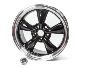 AMERICAN RACING WHEELS Black 5x4.75 18x8 in Torq-Thrust M Wheel P/N AR105M8861B