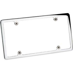 BILLET SPECIALTIES Polished Recessed License Plate Frame P/N 55120