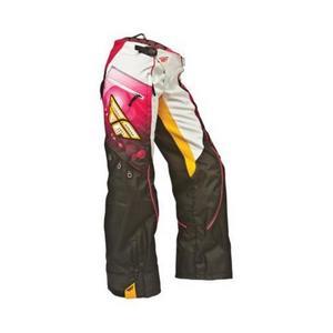 Fly Racing Kinetic Womens Over Boot Race Pants Pink/Orange (Pink, 5/6)