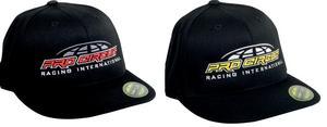 Pro Circuit Racing Adult International FlexFit Black/Yellow Hat S/M