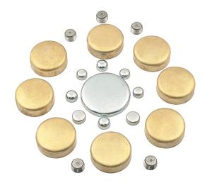 Mr. Gasket 6481 Brass Freeze Plug Kit