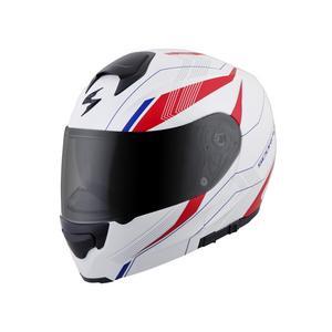Scorpion EXO EXO-GT3000 Modular Street Helmet Sync White/Red Adult Size XS