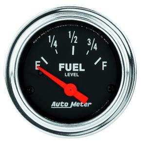 AutoMeter 2514 Traditional Chrome Electric Fuel Level Gauge