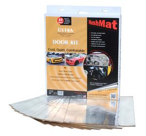Hushmat 10201 Ultra Insulating/Damping Material Door Kit