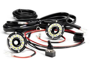 KC HiLites 355 Under Hood Cyclone LED Light Kit