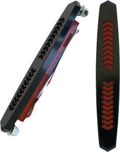 Accutronix BL01-AB Aero LED Bag Lights - Black - Red Lens