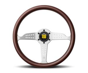 Momo Wood Grip 3 Spoke Heritage Grand Prix Steering Wheel P/N GRA35WDOB