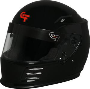 G-FORCE 2X-Large Black Snell SA2015 Full Face Revo Helmet P/N 3410XXLBK