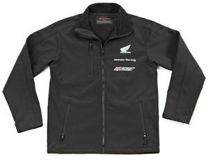 Joe Rocket Honda Racing Soft Shell Jacket (Black, XXX-Large)
