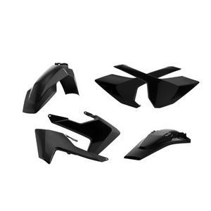 Acerbis Complete Black Plastic Kit For Husqvarna TC 125 FC 250-450 16-17