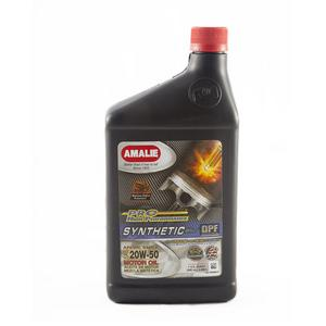 Amalie Pro High Performance 20W50 Motor Oil 1 qt Case Of 12 P/N 160-75696-56