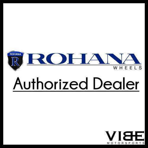 "22"" ROHANA RFX5 TITANIUM CONCAVE FORGED WHEELS RIMS FITS INFINITI M35 M37 M45"