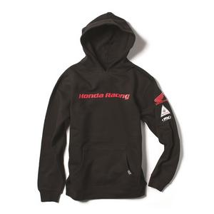 Factory Effex Licensed Honda Racing Pullover Hoodie Black Youth Size L
