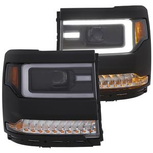 Anzo USA 111375 Projector Headlight Set Fits 16-18 Silverado 1500