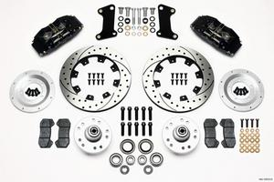 WILWOOD Dynapro 6 Piston Front Brake System GM A/F/X 1964-72 P/N 140-10510-D