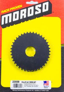 Moroso HTD Alternator Pulley 40-Tooth P/N 23558