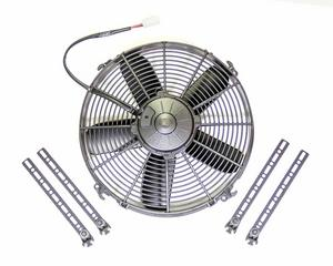 SPAL 861 CFM 12 in Low Profile Electric Cooling Fan P/N 30102051