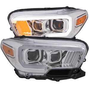 Anzo USA 111378 Projector Headlight Set Fits 16-18 Tacoma