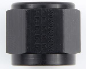 FRAGOLA Black Aluminum 8 AN Tube Nut P/N 481808-BL