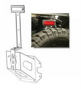 Rampage 86615 Third Brake Light Kit