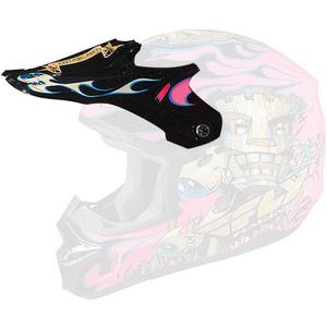Fly Racing 73-3721 Visor for Kinetic Tiki Helmet - Pink/Black