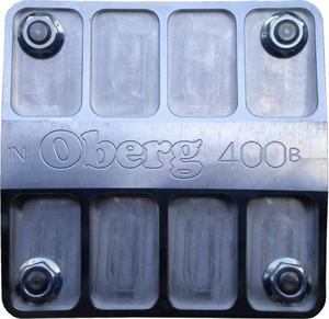 OBERG FILTERS 8 AN 60 Micron Stainless Element 400 Series Fluid Filter P/N 4060