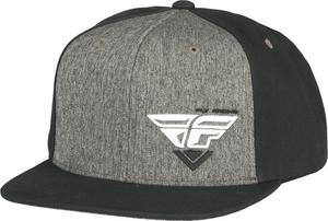 Fly Racing Adult Choice Black/Grey Snapback Hat