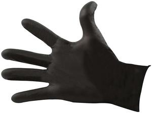 Allstar Performance X-Large Nitrile Black Shop Gloves 100 pc P/N 12026