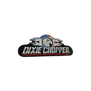 Dixie Chopper Guard Rear Decal for XC3366, XC3374 & XC4074 Lawn Mowers / 800210