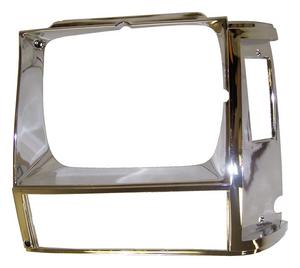 Crown Automotive 55002245 Headlamp Bezel Fits 84-90 Cherokee (XJ)