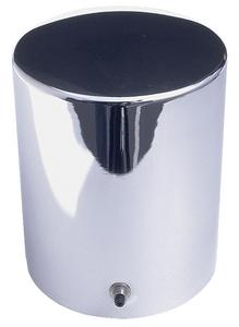 "Trans-Dapt Performance 3-11/16"" Diameter by 4-9/32"" Tall CHROME Oil Filter Cover"