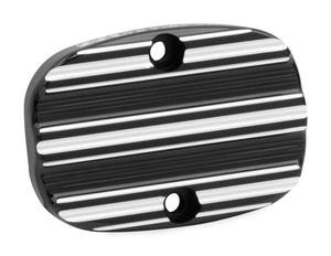 Arlen Ness 03-233 Rear Brake Master Cylinder Cover - 10-Gauge - Black