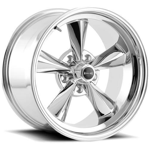 "Ridler 675 15x8 5x4.5"" -12mm Chrome Wheel Rim 15"" Inch"
