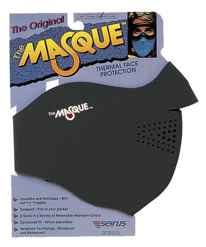 The Masque Thermal Face Protection (Black, Medium)