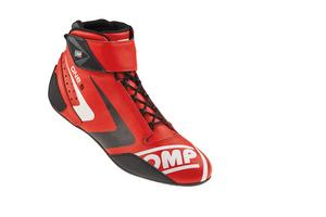 OMP Racing Red Size 12 One-S 2016 Mid-Top Driving Shoe P/N IC80706147